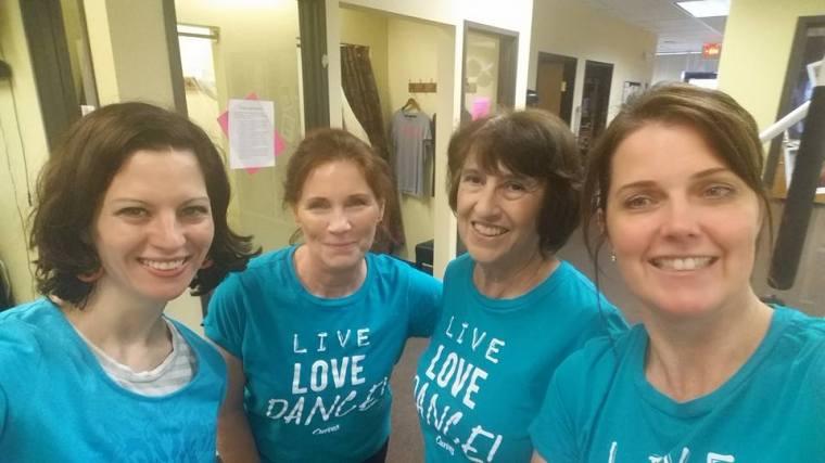 Curves, Live Love Dance, female gym, team-building