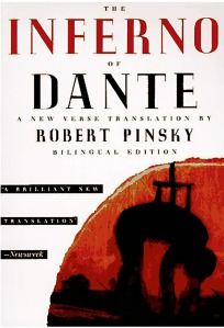 The Inferno of Dante, Dante's Inferno, Divine Comedy, Divina Commedia, Robert Pinsky, bilingual, translation, Italian, terza rima