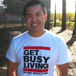 Benny Hsu, founder, entrepreneur, Get Busy Living, Jacksonville, Jacksonville FL, Year In Review