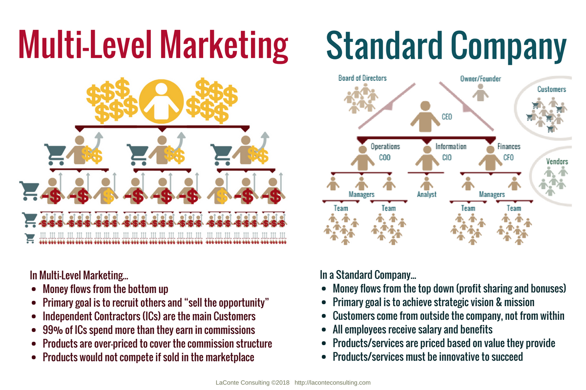 Multi Level Marketing MLM Network Organizational Chart Org