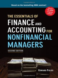 finance essentials, finance and accounting, Edward Fields, non-financial managers, finance book