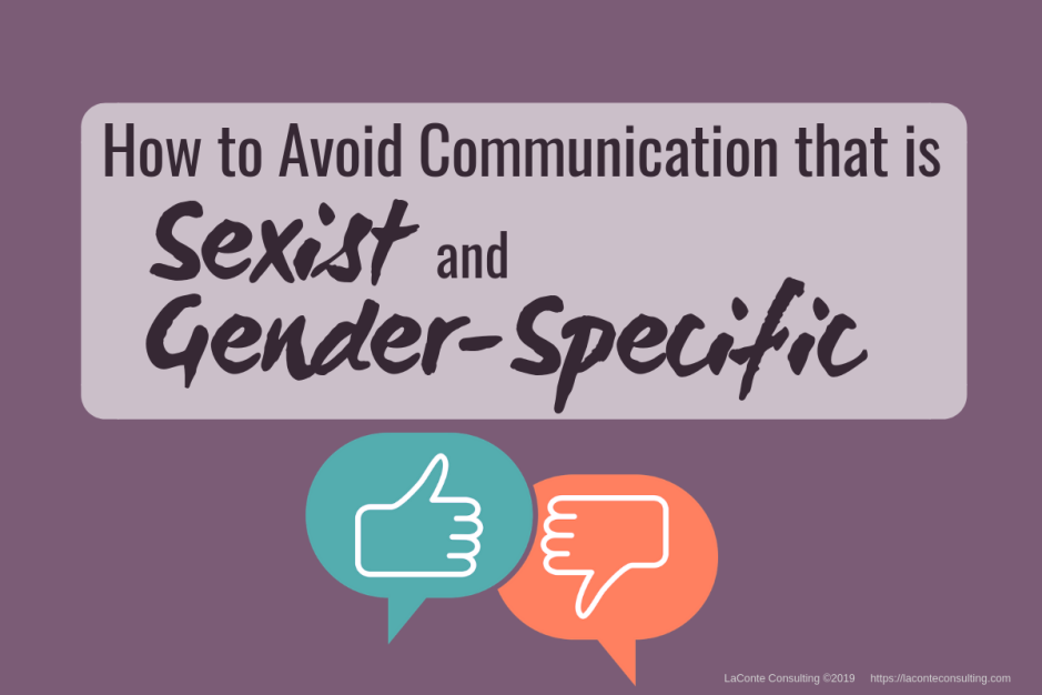 communication, sexist, gender-specific, communication problems, communication risk, strategic risk
