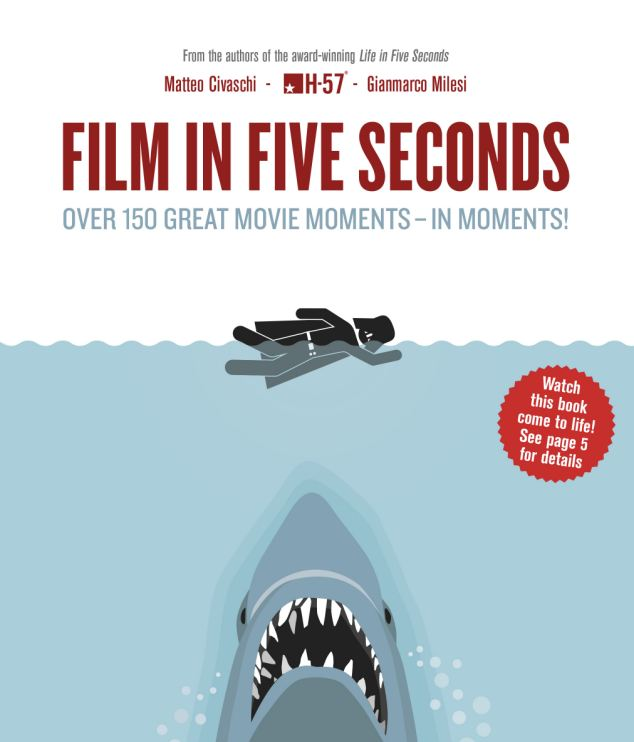 Film in Five Seconds, great movie moments, movie graphics, film graphics, Matteo Civaschi, Gianmarco Milesi, book, book review