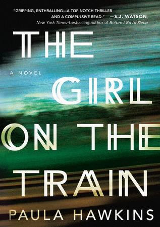 The Girl on the Train, Paula Hawkins, murder mystery, fiction book, novel, book, book review